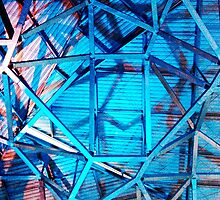 Fed Square Abstract 5 by Tleighsworld