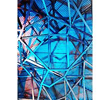 Fed Square Abstract 5 Photographic Print
