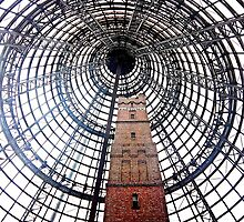 Melbourne Central Shot Tower by Tleighsworld