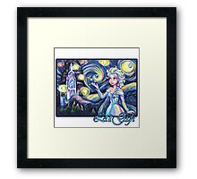 Let It Gogh Framed Print