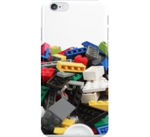LEGO Bricks Pile iPhone Case/Skin