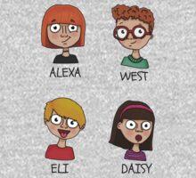 Alexa, West, Eli & Daisy One Piece - Long Sleeve