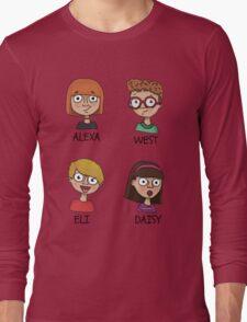 Alexa, West, Eli & Daisy Long Sleeve T-Shirt