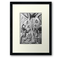 Field Trip to the Oracle Garden Framed Print