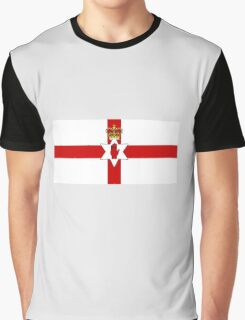 Ulster Banner Flag of Northern Ireland, 1953-1972 Graphic T-Shirt