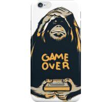 Monkey Game Over iPhone Case/Skin