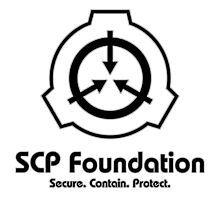 SCP Foundation (in Black) Photographic Print