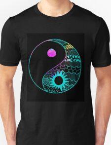 Rainbow Ying Yang Unisex T-Shirt