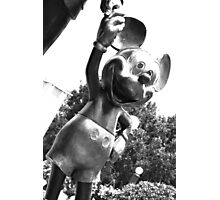Mickey (Monochrome) Photographic Print