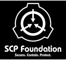SCP Foundation (in White) Photographic Print