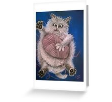 In A Tangle Greeting Card