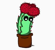 Cute Red Cactus Unisex T-Shirt