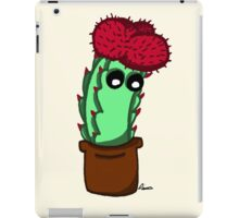 Cute Red Cactus iPad Case/Skin