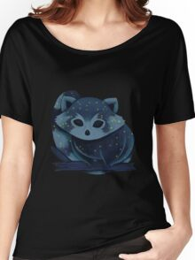 Red panda from space Women's Relaxed Fit T-Shirt