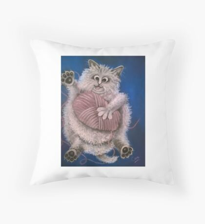 In A Tangle Throw Pillow