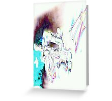 Halo - Vortex of Colour Greeting Card
