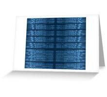 Justin Bieber Love Yourself Spectrogram Greeting Card