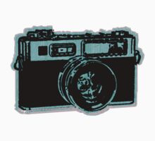 old fashion camera One Piece - Short Sleeve