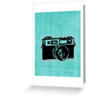 old fashion camera Greeting Card