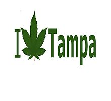 I Love Tampa by Ganjastan