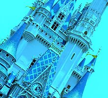 Cinderella's Castle (Turquoise) by MFleming