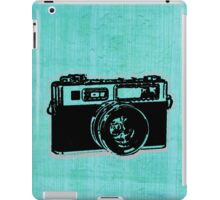 old fashion camera iPad Case/Skin