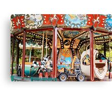 Merry go round - Parc Monceau, Paris Canvas Print