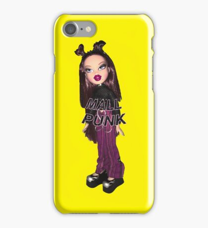 BRATZ DOLL ROXXI MALL PUNK GIRL CYBER GIRL  iPhone Case/Skin