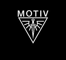 MOTIV - Flying Dagger Logo, iPhone case by motiv