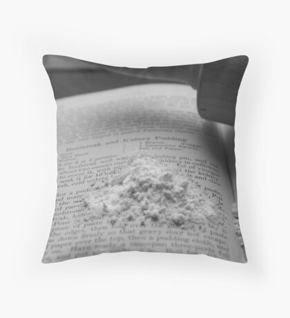 Messy Chef Throw Pillow