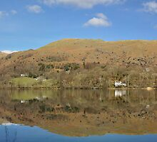 Grassmere reflections by Colin Payne