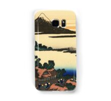 Dawn at Isawa in the Kai province - Hokusai - Views of Mount Fuji Print Samsung Galaxy Case/Skin