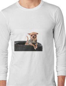 Tire Dog Long Sleeve T-Shirt