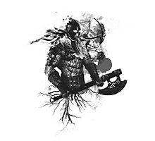 Garruk Wildspeaker in Black Photographic Print