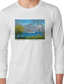 TSS Earnslaw steamer Queenstown Long Sleeve T-Shirt