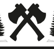 Morning Wood Lumber Co. Sticker