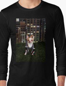 Boxing Dog Long Sleeve T-Shirt