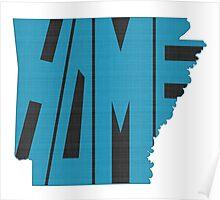 Arkansas HOME state design Poster