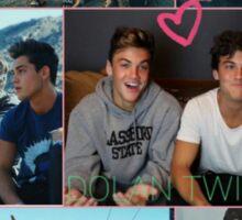 Dolan Twins collage 5  Sticker