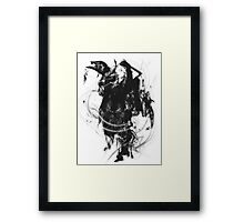 Liliana Vess in Black Framed Print