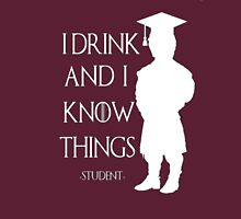 Game of Thrones - I Drink and I Know Things-Student Classic T-Shirt