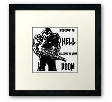 doom 4 Framed Print