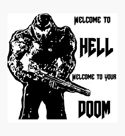 doom 4 Photographic Print