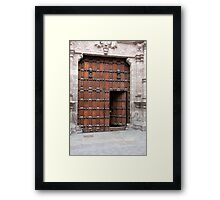 Hand At The Judas Gate Framed Print