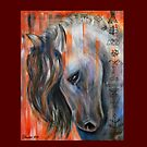 horse for good luck by Inese