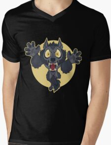 Lil' Monster Mens V-Neck T-Shirt