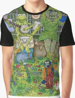 The Muppets Garden Graphic T-Shirt