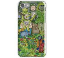 The Muppets Garden iPhone Case/Skin
