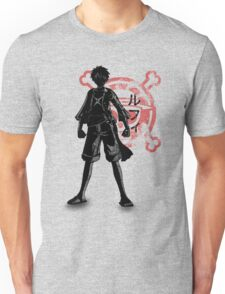 Straw hat Unisex T-Shirt