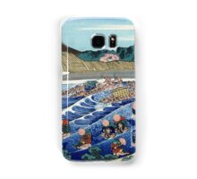 Fuji from Kanaya on Tokaido - Hokusai - Views of Mount Fuji Print Samsung Galaxy Case/Skin